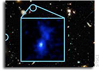 Astronomers Detect Earliest Galaxies