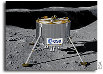 Next step for ESA's first Moon lander
