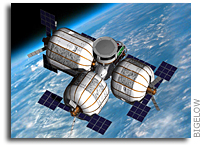 NASA Notice of intent to grant a partially exclusive license: Bigelow Aerospace