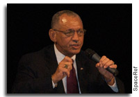 NASA's Charles Bolden Answers Questions at the Agency Heads Plenary of the 61st International Astronautical Congress