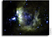 CSIRO telescope spots mega-star cradle
