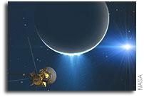 Cassini Measures Tug of Enceladus