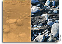 Flash Flooding Paved Streambeds on Titan