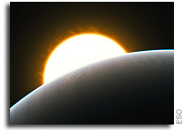 VLT Detects First Superstorm on Extrasolar Planet