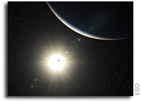 Richest Planetary System Discovered - Up to 7 Planets Orbiting a Sun-like Star