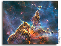Hubble View of the Carina Nebula