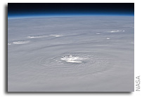 NASA Space Station Photo: Hurricane Earl As Seen From Orbit