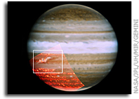 Jupiter's Stripes Are Reappearing