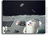 NASA Art and Design Contestants Create Multi-Media Visions of Lunar Life
