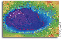 Mapping Project Reinforces Belief in Huge Historic Seas on Mars