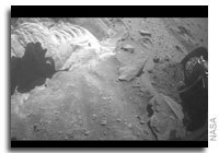 Mars Rover Spirit Becomes a Stationary Research Platform