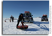 Scientific expedition completes first double Antarctic crossing in vehicles