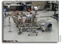 Watch Construction Of NASA's New Mars Rover Live On The Web