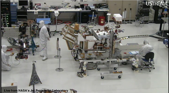 Watch Construction Of NASA's New Mars Rover Live On The ...