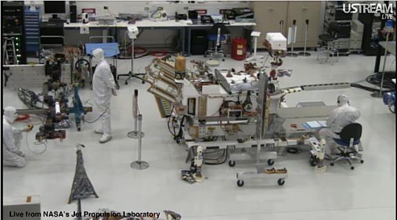 nasa rover construction - photo #9