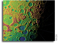 NASA's LRO Creating Unprecedented Topographic Map of Moon