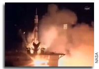 Soyuz TMA-20 Launches Expedition 26 to the International Space Station