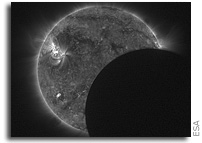 Eclipse observed during four Proba-2 orbits