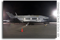Photos of X-37B After Landing at Vandenberg Air Force Base