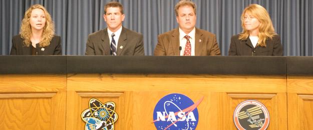 NASA pre-countdown briefing
