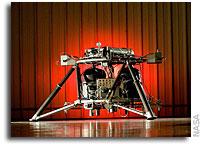NASA's New Lander Prototype Skates Through Integration and Testing