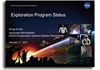 Exploration Program Status Presentation to the NASA Advisory Council