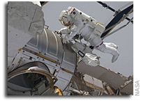STS-134 Update: Overnight EVA