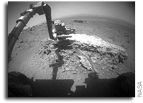 NASA's Mars Rover Opportunity Begins Study of Martian Crater