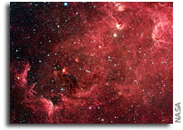 Image: North America Nebula As Seen By Spitzer Space Telescope