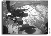 Mars Rover Opportunity Update: Opportunity Spies Outcrop Ahead (with recent photos)