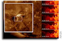 Solar Dynamics Observatory Catches 'Surfer' Waves on the Sun (Images and Video)