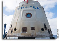 SpaceX Dragon Spacecraft Returns to Florida