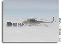 Photos: Soyuz Recovery Ops in Snowy Kazakhstan