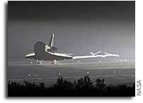 Space Shuttle Endeavour Sails To Home Port For Final Time 