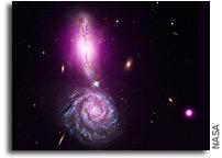 Image: VV 340 - Colliding Galaxies