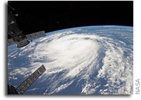 Photo: Tropical Storm Katia As Seen From Space