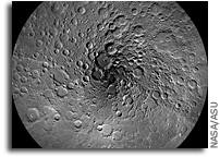 Image: The Moon's North Pole As Seen By Lunar Reconnaissance Orbiter