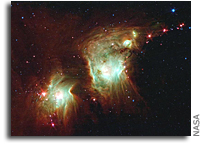 Image: Making a Spectacle of Star Formation in Orion
