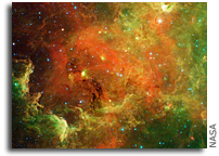 Image: The North America Nebula As Seen by Spitzer Space Telescope
