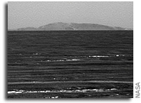 NASA Mars Opportunity Rover Update: Opportunity Studies Rock Outcrop