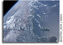 Photo: The Coast of Tanzania As Seen From Orbit