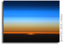 Photo: Sunset As Seen From Aboard The International Space Station Yesterday