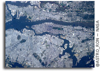 Photo: New York City As Seen From Orbit