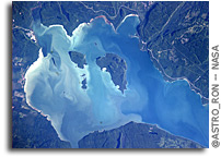 Photo: Canada's Lake Nipigon As Seen From Orbit