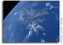 Photo: Greece as Seen From the International Space Station