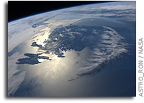 Two Photos: Newfoundland as Seen From the International Space Station