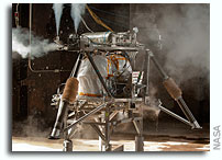 NASA Makes Use of Historic Test Site for New Robotic Lander Prototype Tests