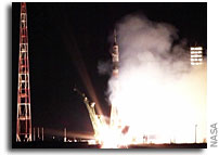 Space Station Crew Launches from Birthplace of Human Spaceflight