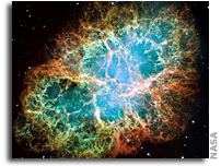 Pulsed Radiation from Crab Nebula Wasn't Supposed To Be There