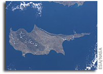 Photo: Cyprus As Viewed From Orbit